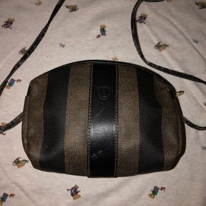 Authentic small fendi shoulder bag
